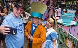 Jeff Reitz vient tous les jours à Disney depuis le 1er janvier 2012.