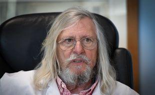 Le Pr Didier Raoult, infectiologue et directeur de l'IHU de Marseille, défend l'efficacité de la chloroquine contre le coronavirus.