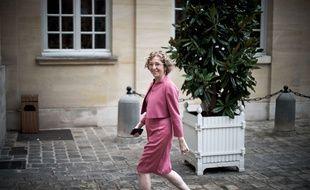 La ministre du Travail Muriel Pénicaud le 25 juillet 2017 à l'hôtel Matignon, à Paris.