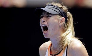 Maria Sharapova à l'Open d'Australie, le 26 janvier 2016.