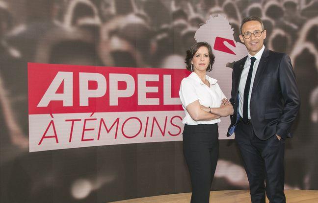 Nathalie Renoux et Julien Courbet coaniment Appel à témoins, sur M6.