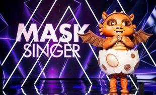 Le Dragon dans Mask Singer sur TF1