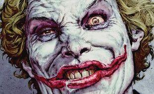 Le Joker dessiné par Lee Bermejo