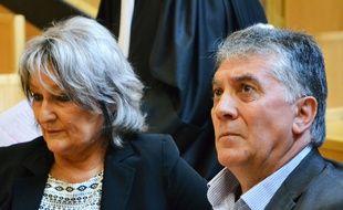 Dominique et Robert Navarro, devant le tribunal correctionnel, en 2016.