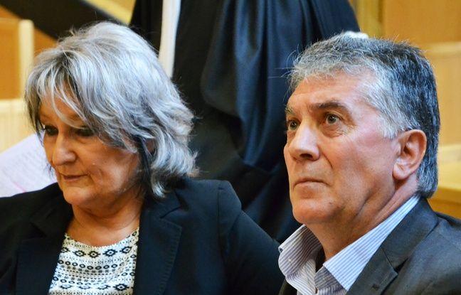 Dominique et Robert Navarro, mardi, devant le tribunal.