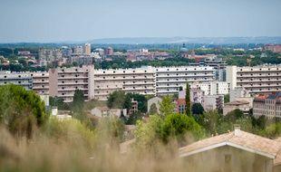 Le quartier populaire d'Empalot à Toulouse.