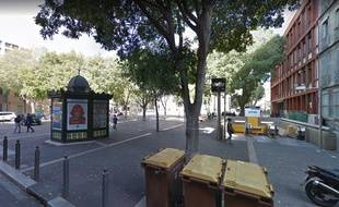 Le métro Chartreux, dans le IVe arrondissement de Marseille.