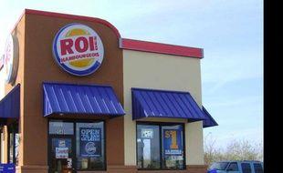 Adam Polka a détourné l'enseigne de restauration rapide Burger King.