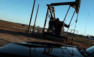 Une unité de pompage de pétrole à Sweetwater, au Texas, le 19 janvier 2016