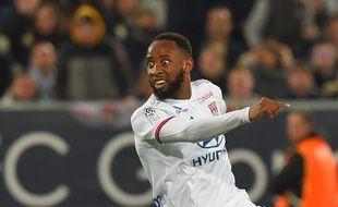 Moussa Dembélé, l'attaquant de l'OL.