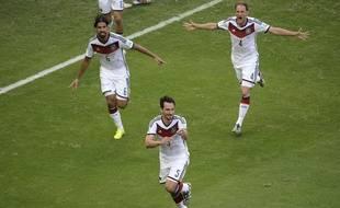 Les Allemands n'ont laissé aucune chance aux Portugais, le 16 juin 2014 au Brésil.
