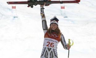 Mais qui est donc Ester Ledecka, la skieuse-snowboardeuse en or sur le Super G?