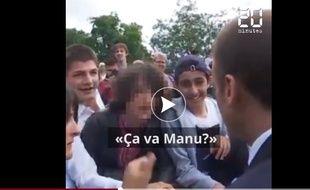 Le président Emmanuel Macron n'aime pas trop qu'on l'appelle Manu