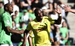 Prejuce Nakoulma a inscrit ce dimanche son 5e but en seulement 6 matchs en Ligue 1 depuis son arrivée à Nantes.