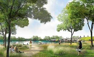 L'agence retenue propose de creuser un bassin de baignade à Cicé.