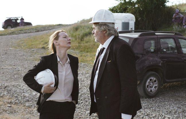 Sandra Hüller et Peter Simonischek dans Toni Erdmann