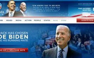 Le site Internet d'Obama, arme centrale de sa stratégie