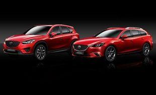 Les nouvelles Mazda 6 et CX-5