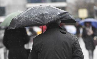 Illustration d'un temps pluvieux.