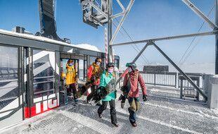 Tout comme Les Deux-Alpes, Tignes a connu une courte réouverture avant le reconfinement, du 17 au 28 octobre.