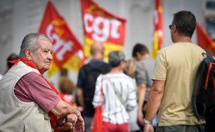 Mobilisation contre le nouveau système des retraites en septembre à Marseille