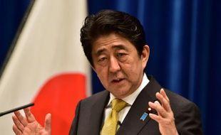 Le Premier ministre japonais Shinzo Abe à Tokyo, le 25 septembre 2015