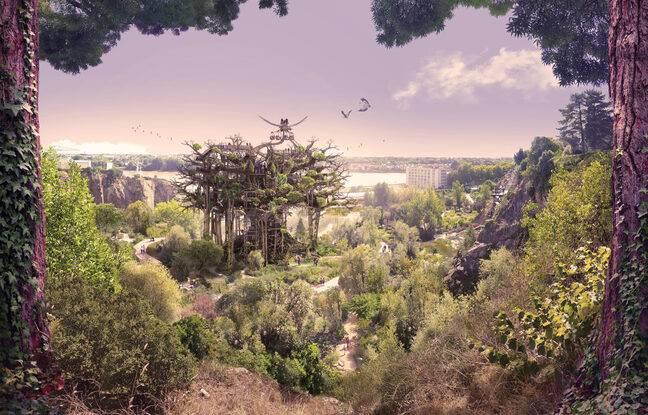 Vue de l'arbre aux hérons (2021)