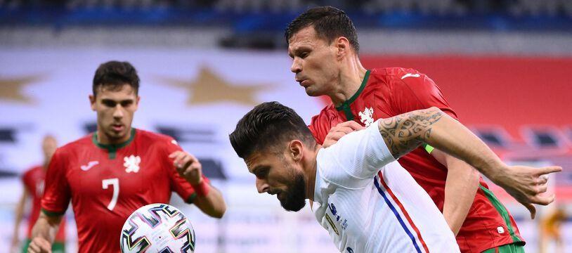 Olivier Giroud contre la Bulgarie