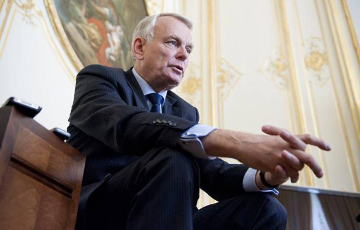 Le premier ministre Jean-Marc Ayrault dans son bureau à Matignon, le 17 ami 2012.  – V. WARTNER / 20 MINUTES