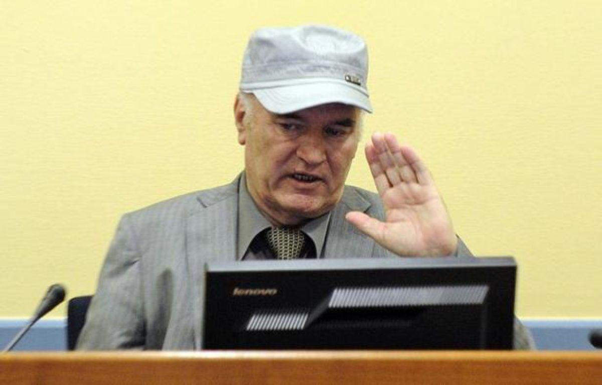 Le procès de l'ancien chef militaire des Serbes de Bosnie Ratko Mladic, accusé notamment du massacre de Srebrenica en juillet 1995, doit s'ouvrir mercredi devant le Tribunal pénal international pour l'ex-Yougoslavie (TPIY). – Martin Meissner afp.com