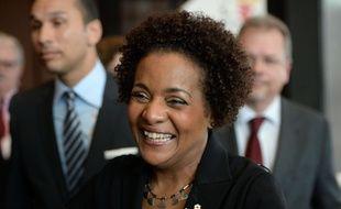 Michaëlle Jean, le 30 novembre 2014, à Dakar.