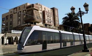 Le tramway conçu par Alstom pour la ville de Ouargla en Algérie