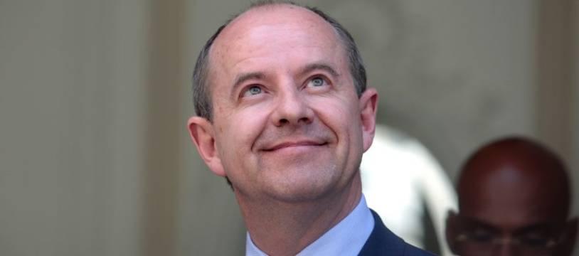 Jean-Jacques Urvoas, ex-garde des Sceaux, le 17 mai 2017.