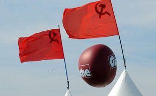 Le 11 septembre 2009 à La Courneuve, au premier jour de la «Fête de l'Huma» du Parti communiste français.