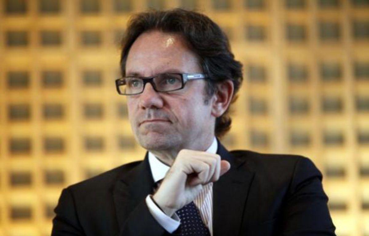 Le secrétaire d'Etat au Commerce et au Tourisme, Frédéric Lefebvre, le 14 janvier 2011. – FACELLY/SIPA