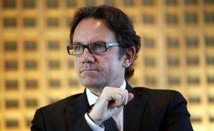 Le secrétaire d'Etat au Commerce et au Tourisme, Frédéric Lefebvre, le 14 janvier 2011.