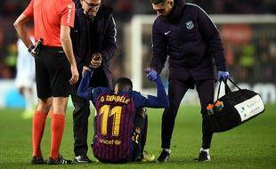 Ousmane Dembélé pourrait manquer le match face à Lyon.