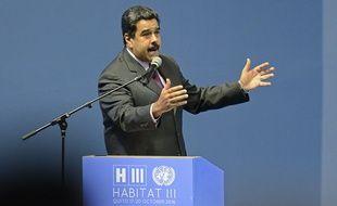 Nicolas Maduro à Quito le 17 octobre 2016