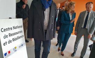 La ministre de la Justice, Nicole Belloubet, au CNRR de Lille.