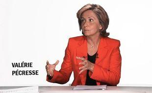 La ministre du Budget, Valérie Pécresse, était l'invitée le 4 avril 2012, de 20minutes.fr.