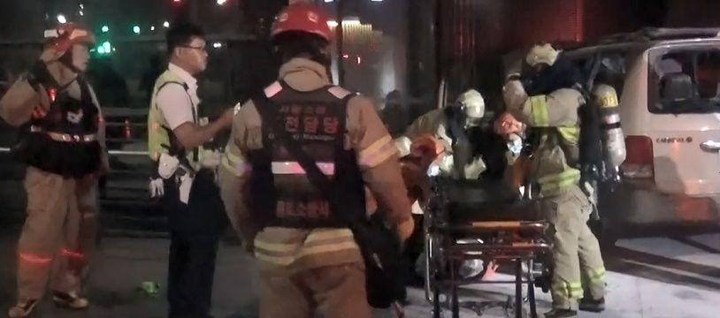Les secours après l'immolation