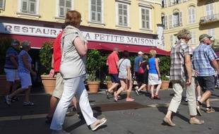 Christian Estrosi a, depuis longtemps, ses habitudes au restaurant La Petite Maison, à Nice