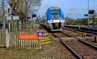 Un train TER