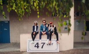 Lopez, Blaise et Pierre-Paul du groupe 47Ter.