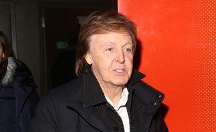 Paul McCartney lors d'un événement à New York en décembre 2016