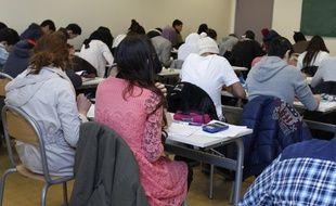 Le lycée privé musulman Averroes, à Lille, a obtenu 100% de réussite au baccalauréat en 2012.
