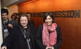Frédérique Calandra et Anne Hidalgo en 2014