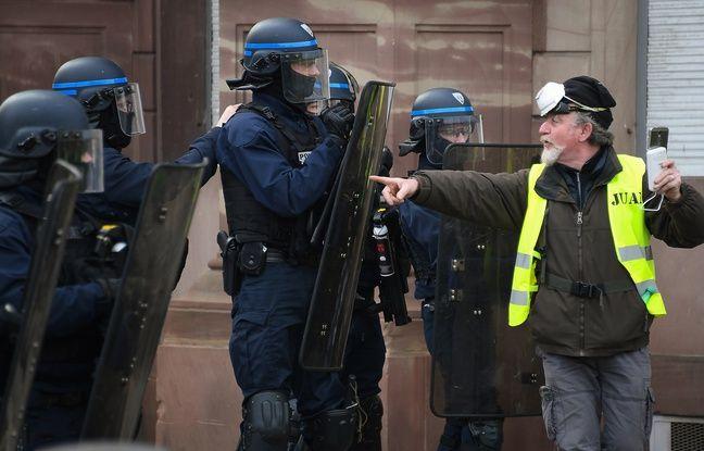 «Gilets jaunes» à Strasbourg: Des policiers blessés et près de 20 interpellés dans une ambiance tendue, samedi