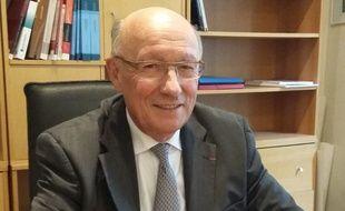 Patrick Masclet, président de l'Association des maires du Nord.
