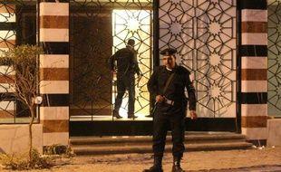Un policier égyptien le 27 janvier 2012 au Caire